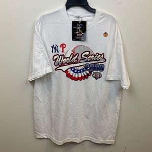 World Series 2009 Phillies Yankees Shirt Size XL
